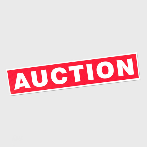 Corflute: AUCTION