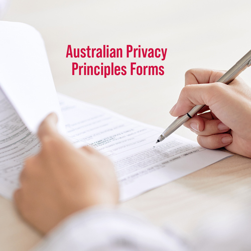 Australian Privacy Principles Forms